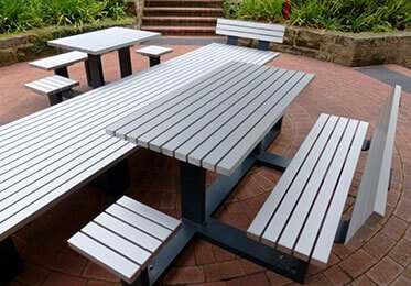 White Parkline Outdoor Products